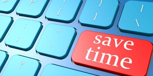 Save time keyboard